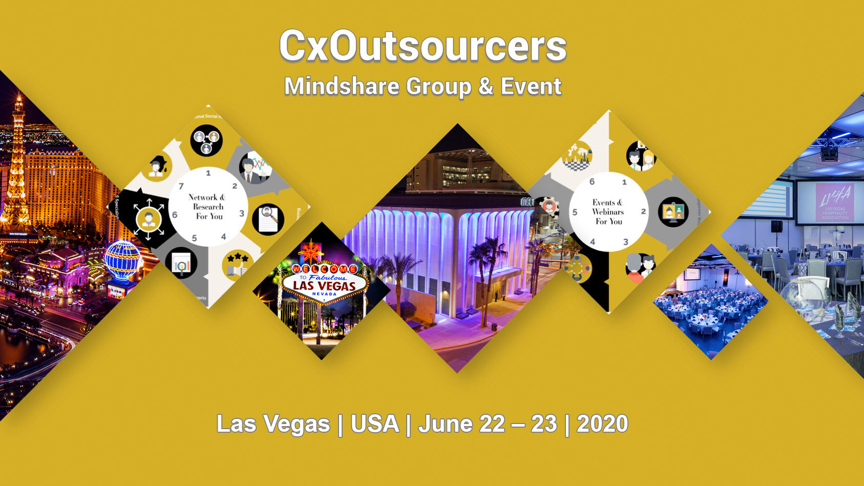 June 23 2020 Events.Secure Your Seat For The Cxoutsourcers 2020 Las Vegas Usa Mindshare Event Deposit